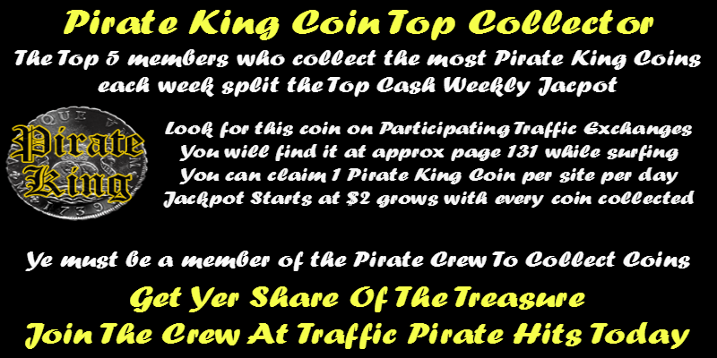 Traffic Pirate King Coin Splash Page